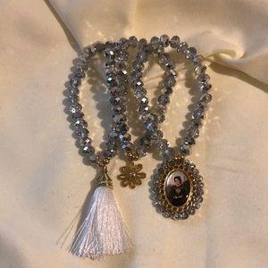 Jewelry - Artisanal Crystal Beaded Bracelets